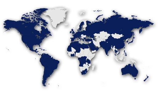 Interra World Coverage