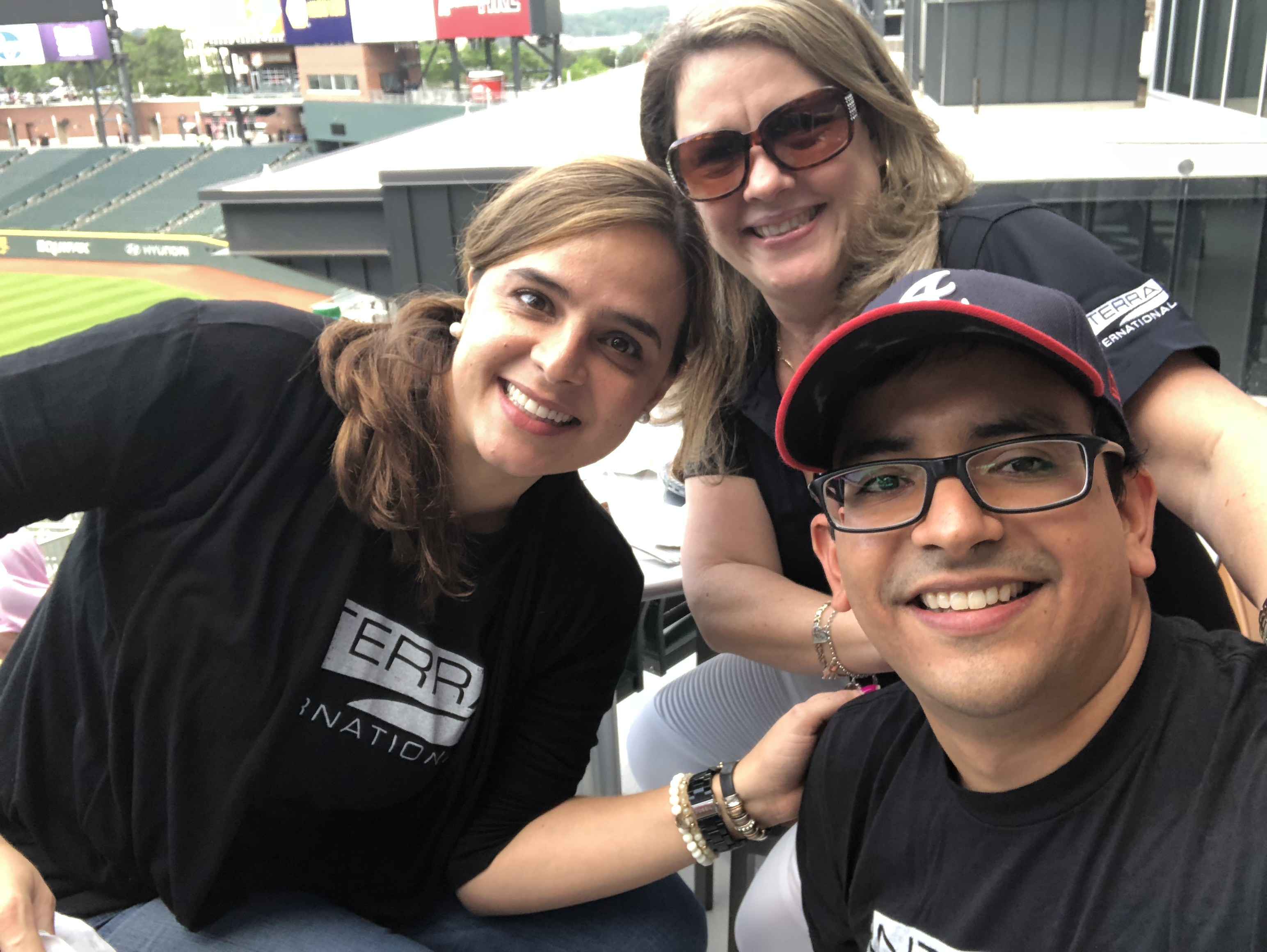 Interra Team At The UGA Vs GT Baseball Game 2018