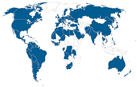 Map of Countries