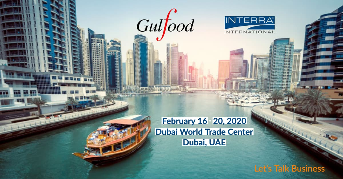 Interra International | Gulfood 2020