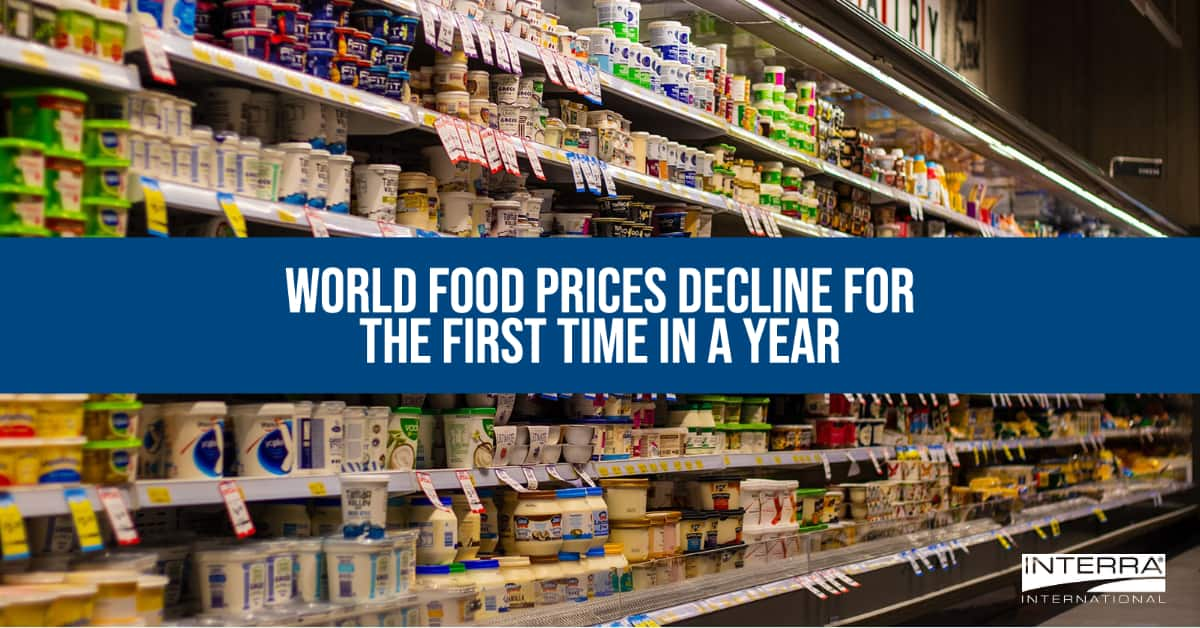 Interra International   Food Industry, Food Prices
